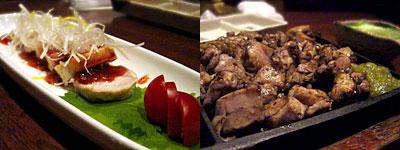 居心地屋 やまぢ 天神西中洲店:みやざき地頭鶏のもも焼き