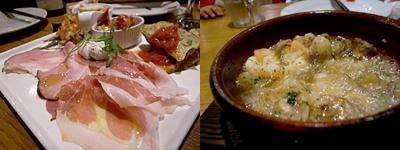 SALVATORE CUOMO & BAR (サルヴァトーレ クオモ アンド バール) 天神:海老とマッシュルームのアヒージョ