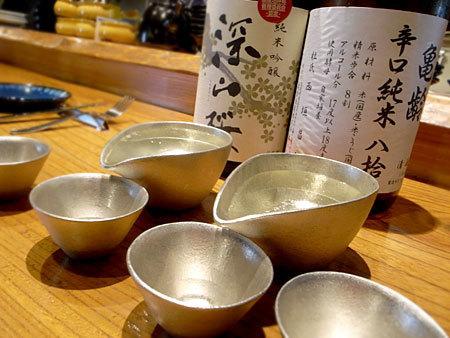 米と葡萄 信玄酒店:日本酒たち