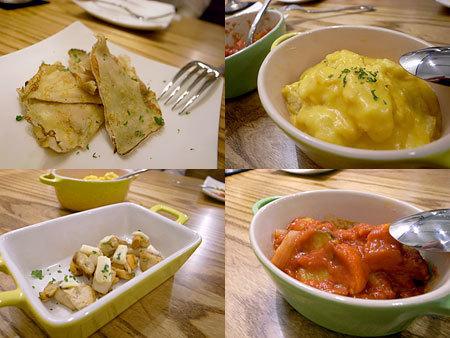 イタリアン食堂 FIGARO (フィガロ) :サーモンとクリームチーズのクレープなど