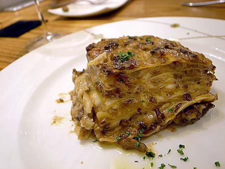 イタリアン食堂 FIGARO (フィガロ) :手打ちの生ラザニア
