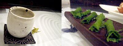 西洋料理と茶ゆ鍋 やまなか:そば味噌の香り巻き