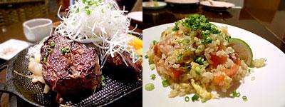 にじいろ食堂:牛ほほ肉のとろとろグリル、トマトライス