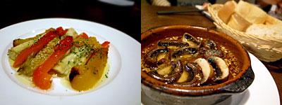 SPAIN RESTAURANT&BAR LENTE(レンテ):マッシュルームの土鍋煮