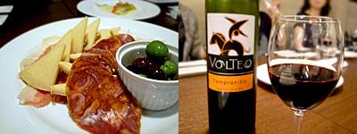 SPAIN RESTAURANT&BAR LENTE(レンテ):スペイン食材盛り合わせ