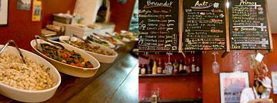 Ringrazie (リングラッツェ):大皿料理たち