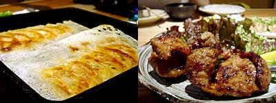 札幌ぶたや:鉄なべ餃子、自慢のやきとん