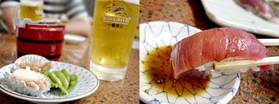 魚がし つきじ寿司:築地で乾杯
