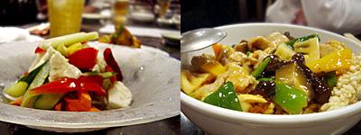 金絲猴(きんしこう):中華ピクルス、海鮮おこげ