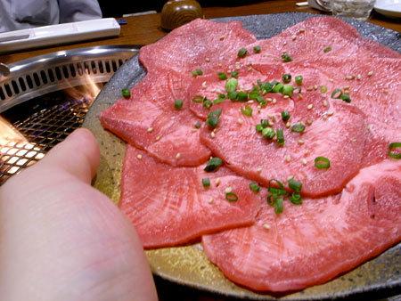 焼肉・すき焼き 純 天神警固店:上タン