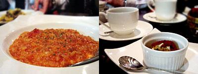 Laguna (ラグーナ):三種の炙りチーズのトマトリゾット