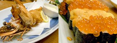海鮮居酒屋 まこと家:生うにといくらのぶっかけ寿司