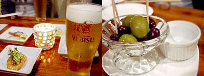 ワイン食堂 ウーバンブー:オリーブ3種