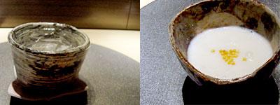 ひな椿 菜々(さいさい):松の実のおかゆ
