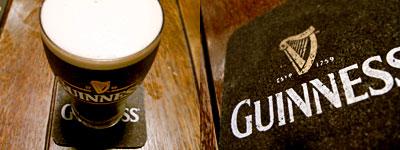 IRISH BAR KEY STONE(アイリッシュ バー キーストーン):ギネス