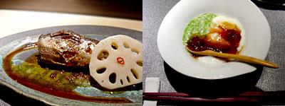 ひな椿 菜々(さいさい):イワシと山芋やめかぶ
