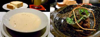 DINING&BAR SWARO(ダイニングバースワロ):牛肉のフィレ にんにくソース
