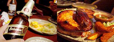 メキシコ料理 ラボラーチャ:ボヘミア、くるくるポジョ