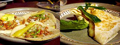 メキシコ料理 ラボラーチャ:パストール、デシェブラード