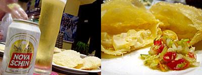 ブラジル料理 ドイスラゴス:パステル