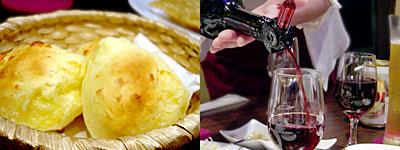 ブラジル料理 ドイスラゴス:ポン・デ・ケイジョ