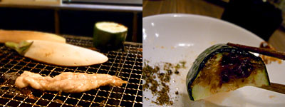 炉ばた 雷橋:野菜たち