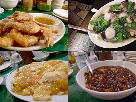 新世界 檳榔の夜(びんろうのよる):小エビのカリカリ揚げ、麻婆豆腐
