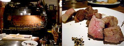 洋食屋 グリル豆の木:白豚と黒豚の食べ比べ