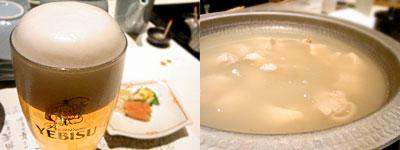 水たき料理 博多 華味鳥 天神店:華味鳥の水炊き