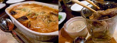 和洋折衷野菜料理 遊菜 博多屋:茄子と挽肉のグラタン