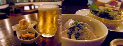 そいさぼ SoiSabo:紅芋ジーマミー豆腐、沖縄直送の海ぶどう