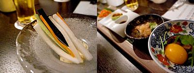 ビストロ鉄板 空と海:前菜たち