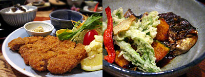 和食ビストロ 橙橙(だいだい):霧島黒豚トンカツ