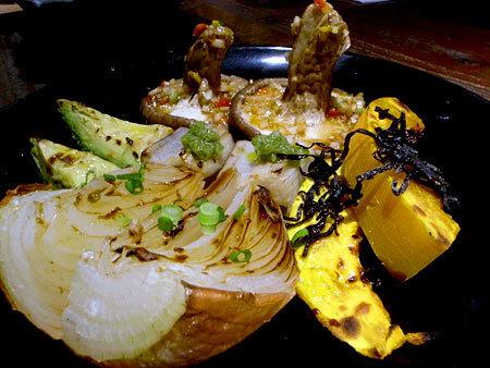 エムズグリエ・リン:焼野菜たち