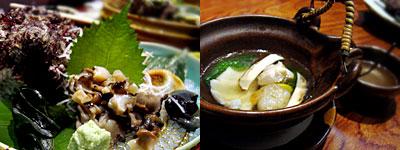 地魚と創作料理 雑魚屋:松茸の土瓶蒸し