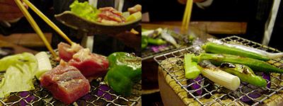 古ばこ食堂:七輪焼き