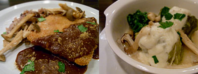 aperi(アペリ):豚ロースのフランス風トンカツ、ロール白菜、なめらかなカブのソース 冬野菜と共に