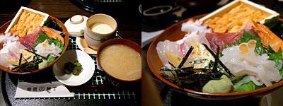 魚処 天神銀丁:海鮮丼
