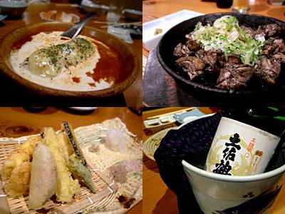 魚肉菜 春馬(はるま):ロールキャベツトマトソース煮込、地鶏モモ炭火焼、etc