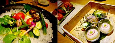 季節の生野菜たち