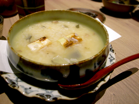 『 鰻串とおでん 一 (HAJIME:はじめ) 』:丸雑炊