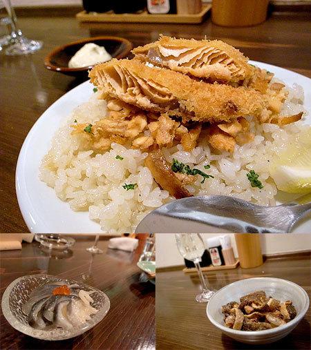 しゃけ小島 中洲店:鮭バターライス