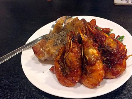 中国料理 熊猫食堂:お通し