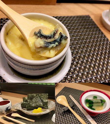 茶碗蒸し本舗 稲穂 中洲店:鰻茶碗蒸し