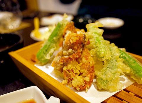 和食 並木屋:やわらか蟹天ぷら