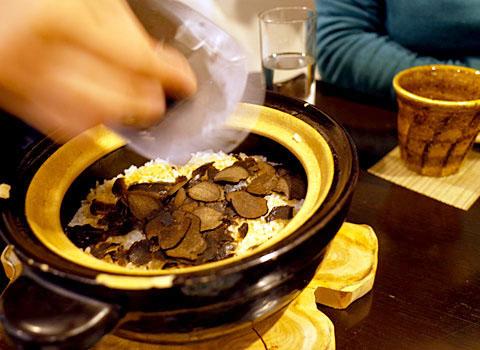 和食 並木屋:トリュフ釜飯