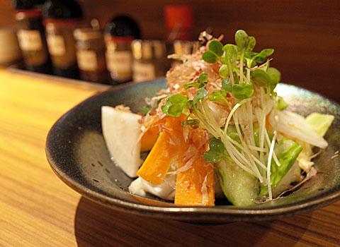 酒と餃子と舌心:あさづけサラダ
