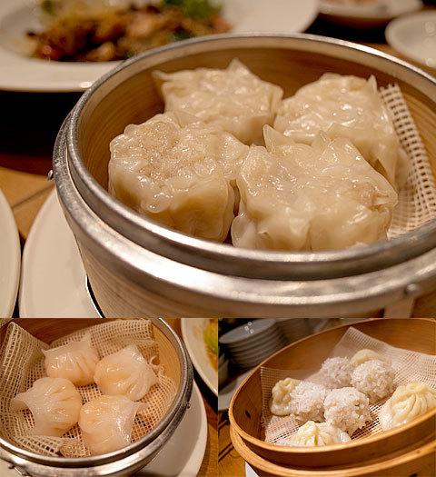 チャイナスタンド 二兎(ニト):胡椒焼売とか、海老蒸し餃子、小籠包などいろいろ