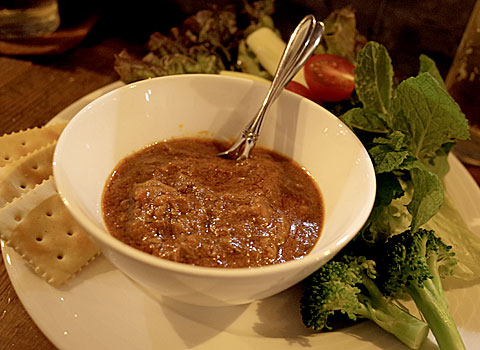 HIBARI HILLS (ヒバリヒルズ):野菜とカレーのプレート
