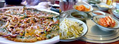 釜山旅行:海鮮チヂミも